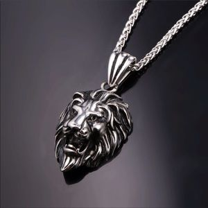 Other - New Stainless Steel Lion Necklace For Men /Women